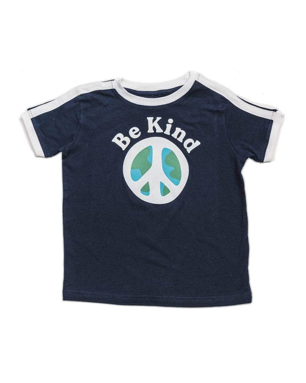 Keep Nature Wild Kids Be Kind Unisex Toddler Tee | Navy