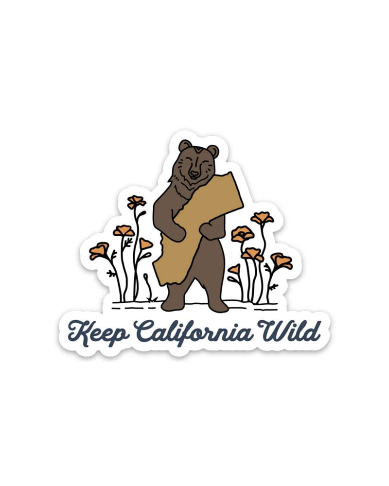 Bear Hug | Sticker - Keep Nature Wild