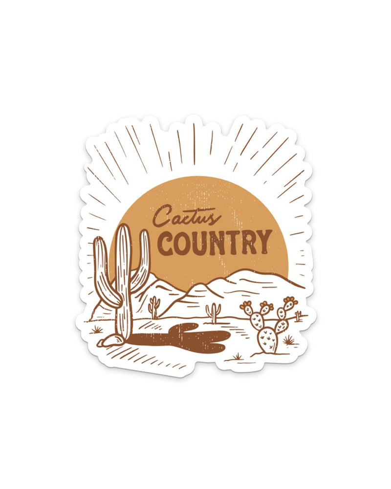Keep Nature Wild Sticker Cactus Country | Sticker
