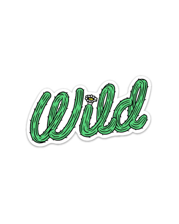 Cactus Wild | Sticker - Keep Nature Wild