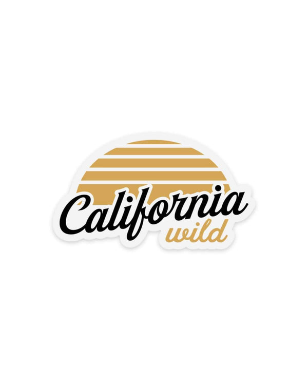 California Wild | Sticker - Keep Nature Wild