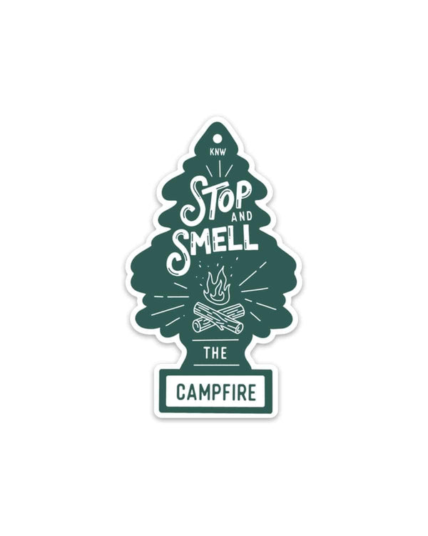 Campfire Fresh | Sticker - Keep Nature Wild