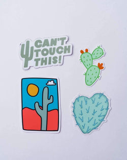 Can't Touch This | Sticker Pack - Keep Nature Wild