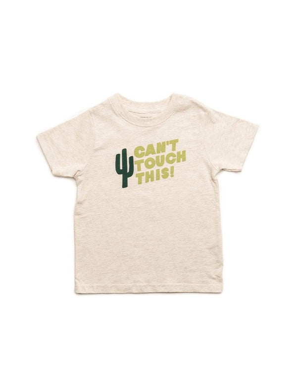 Can't Touch This Toddler Tee | Oatmeal - Keep Nature Wild