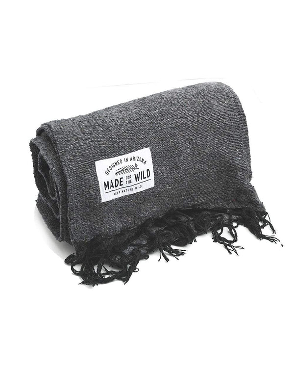 Keep Nature Wild Blanket Charcoal Solid | Blanket