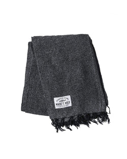Charcoal Solid | Blanket - Keep Nature Wild