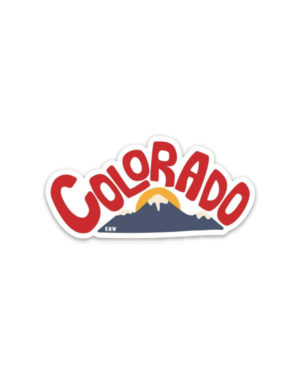 Colorado Landscape | Sticker - Keep Nature Wild