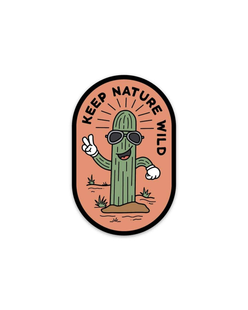 Cool as a Cactus | Sticker - Keep Nature Wild