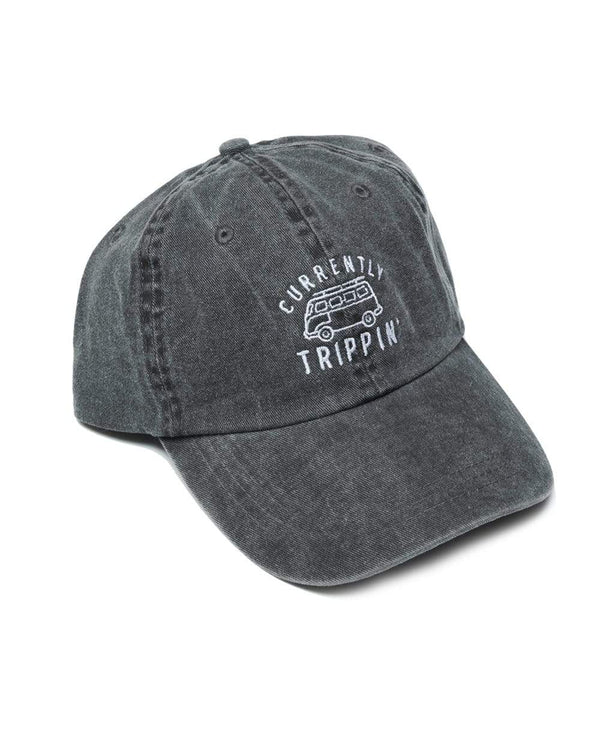 Keep Nature Wild Hat Currently Trippin Dad Hat | Charcoal