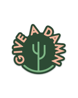 Damn Desert | Sticker - Keep Nature Wild