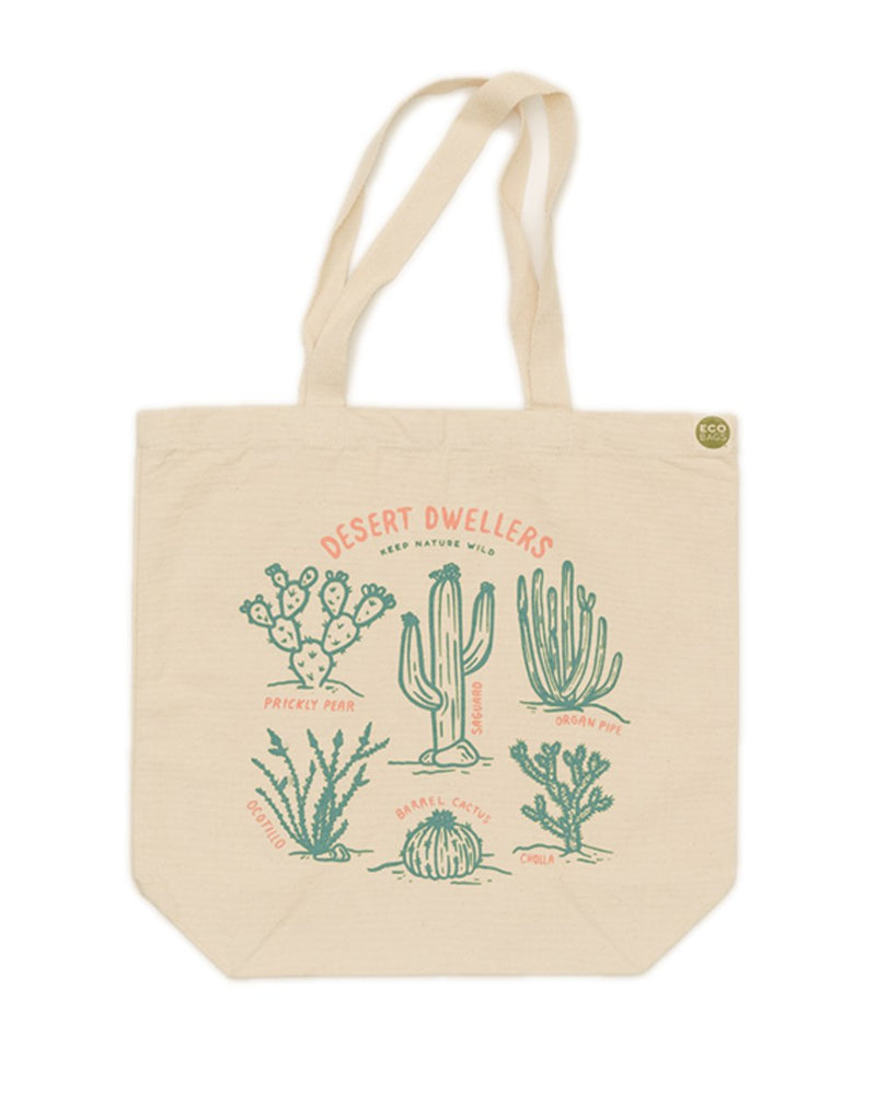 Keep Nature Wild Reusables Desert Dwellers | ECO Tote Bag