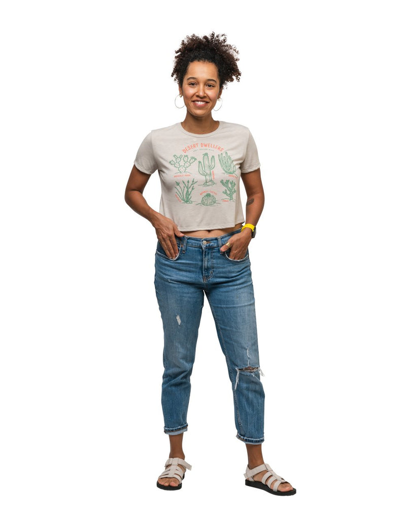 Keep Nature Wild Tank Desert Dwellers Women's Crop Top | Dust