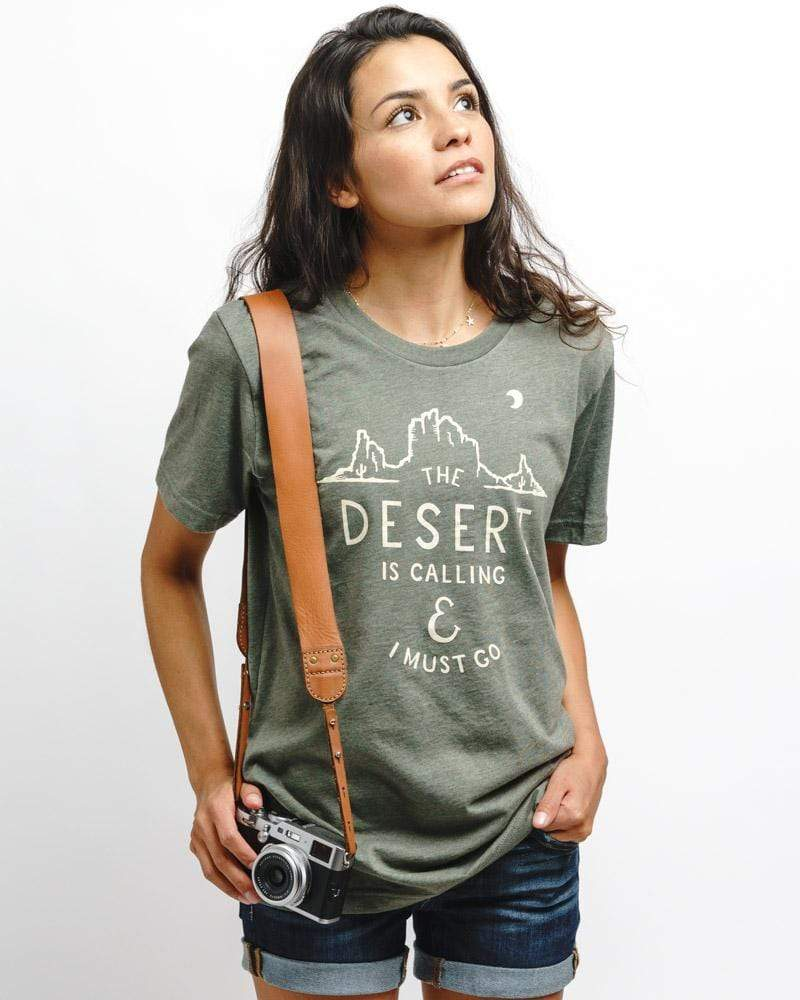 Desert Is Calling Unisex Tee | Moss - Keep Nature Wild