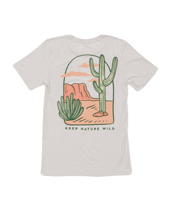 Keep Nature Wild Tee Desertscape Tee Unisex Tee | Summer Shadow