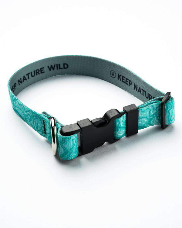 Dog Collar | Topo Coastal - Keep Nature Wild