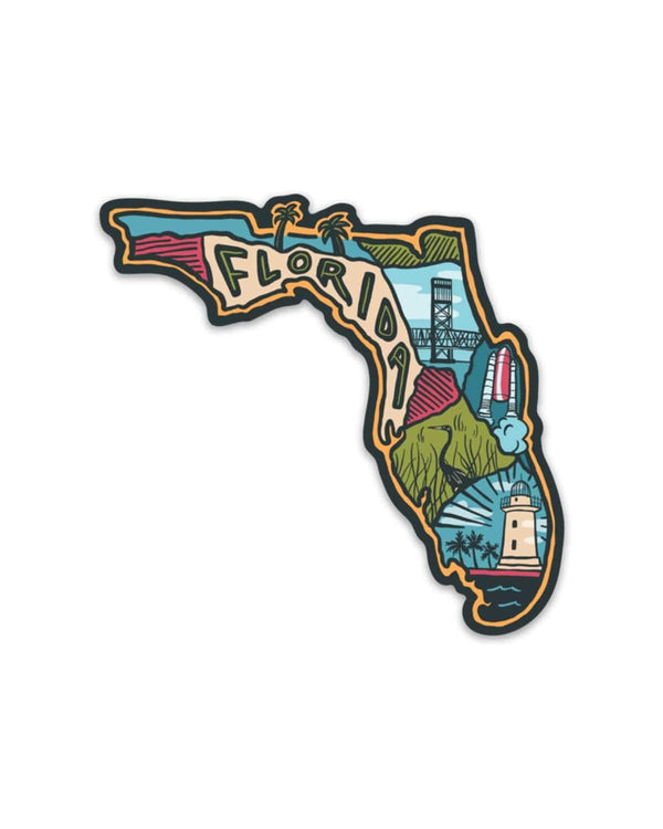 Florida Love | Sticker - Keep Nature Wild