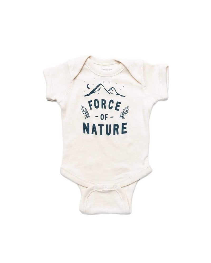 Force of Nature Onesie | Natural - Keep Nature Wild