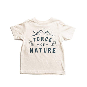 Force of Nature Toddler Tee | Natural Heather