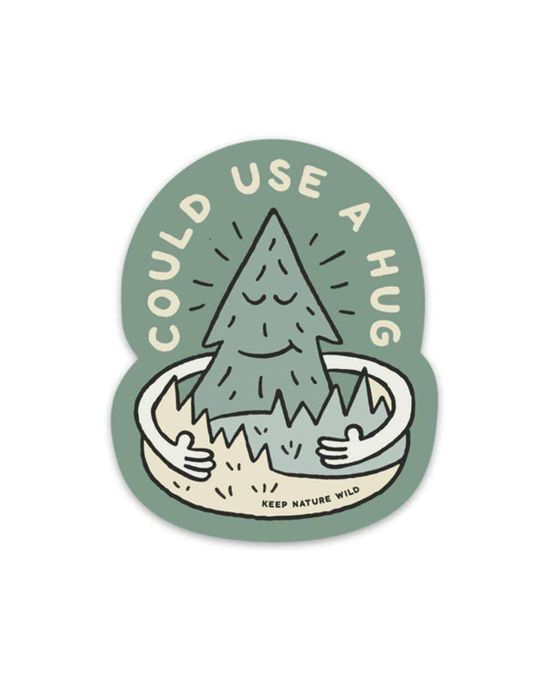 Keep Nature Wild Sticker Forest Hugs | Sticker