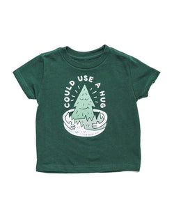 Keep Nature Wild Kids Forest Hugs Toddler Tee | Forest