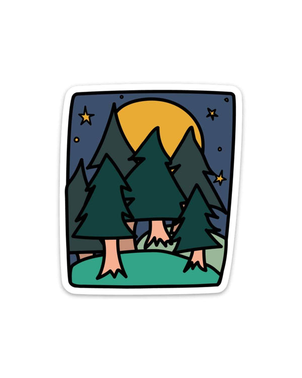 Forest Nights | Sticker - Keep Nature Wild