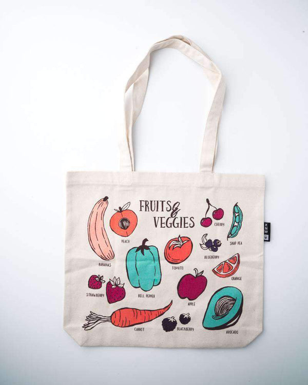 Fruits & Veggies | Tote Bag - Keep Nature Wild
