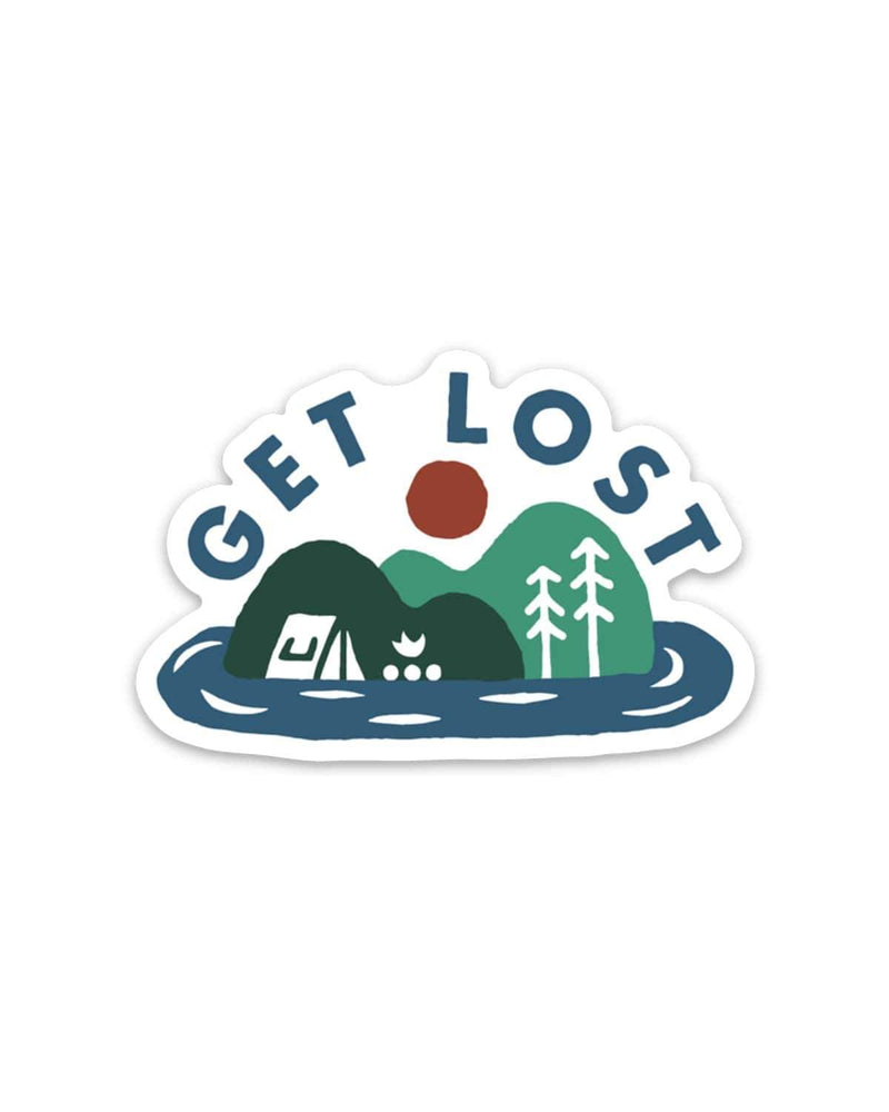 Get Lost | Sticker - Keep Nature Wild