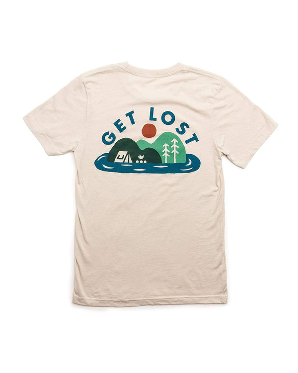 Get Lost Unisex Tee | Natural - Keep Nature Wild