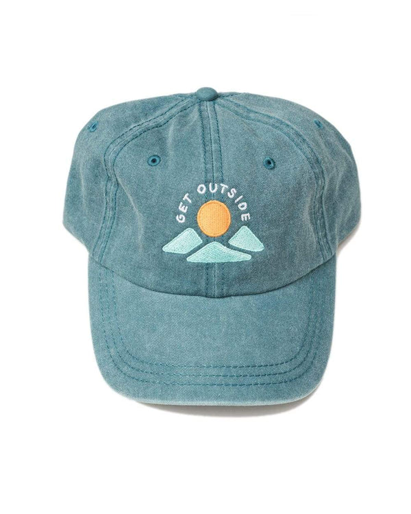 Keep Nature Wild Hat Get Outside Dad Hat | Coastal Blue