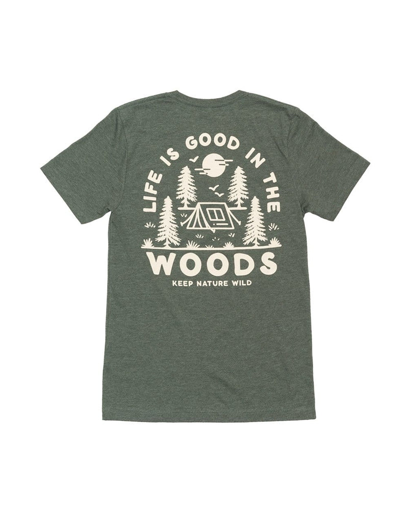 Keep Nature Wild Tee Good in the Woods Unisex Tee | Forest