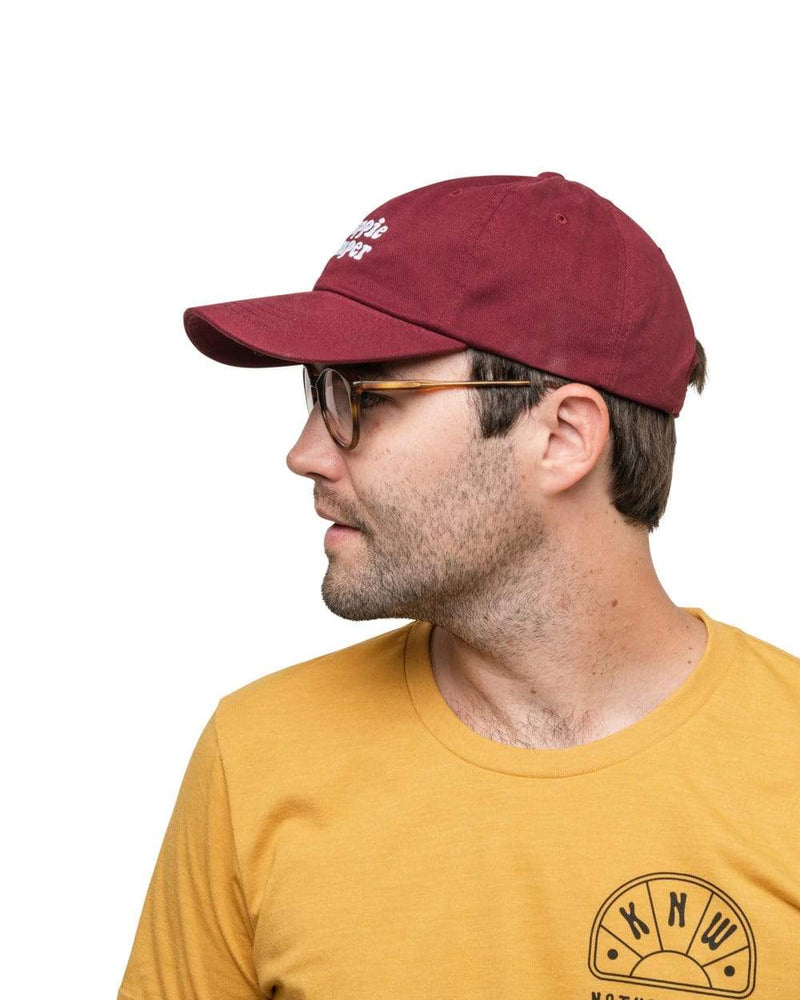 Keep Nature Wild Hat Happie Camper Dad Hat | Maroon