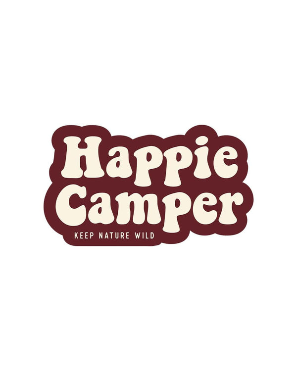 Keep Nature Wild Sticker Happie Camper | Sticker