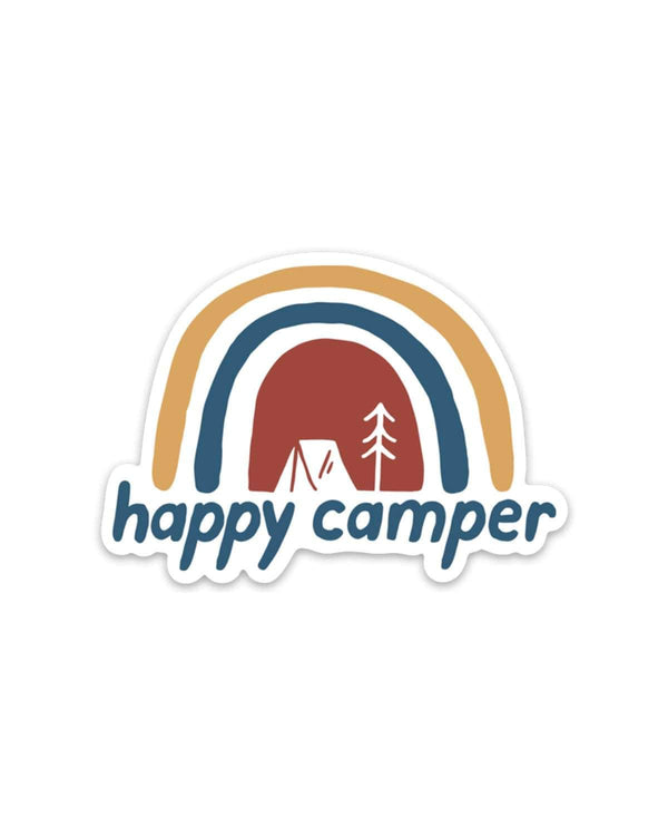 Happy Camper | Sticker - Keep Nature Wild