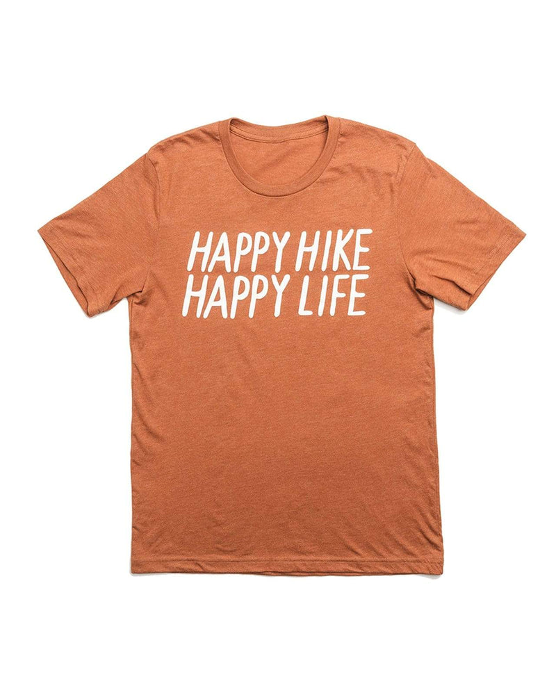 Happy Hike Unisex Tee | Autumn - Keep Nature Wild