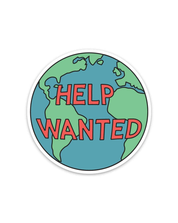 Help Wanted | Sticker - Keep Nature Wild