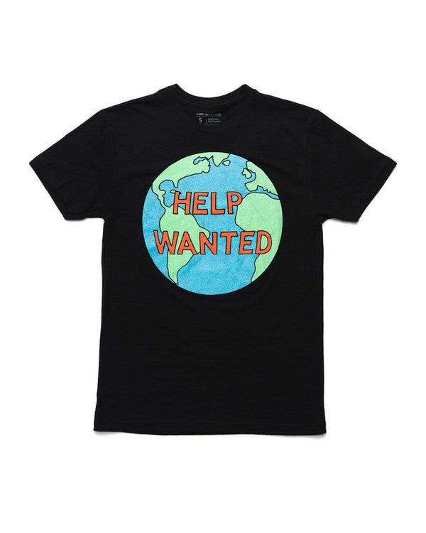 Help Wanted Unisex Tee | Black - Keep Nature Wild