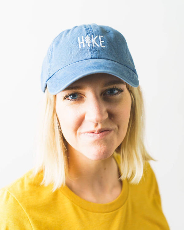 Hike Dad Hat | Faded Navy - Keep Nature Wild