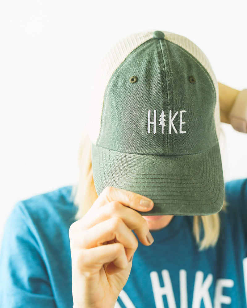 Hike Dad Hat | Mesh Forest - Keep Nature Wild