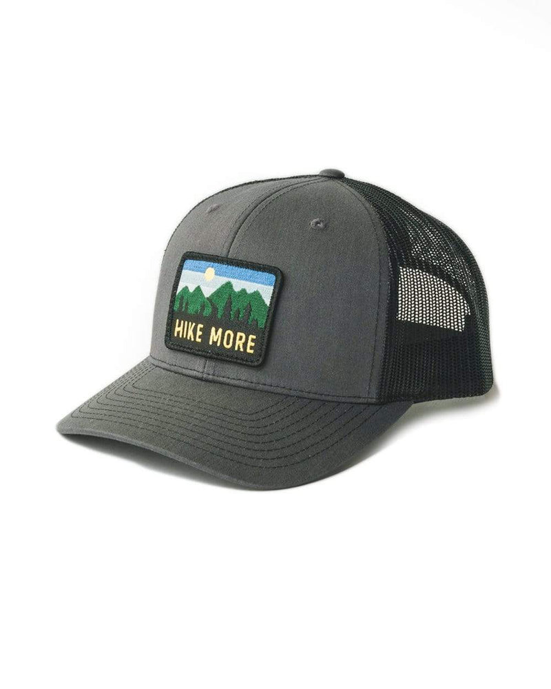 Keep Nature Wild Hat Hike Horizon Patch Hat | Charcoal/Black