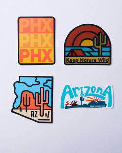 Hot Hot Hot | Sticker Pack - Keep Nature Wild