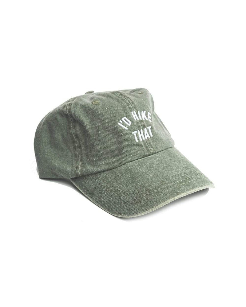 I'd Hike That Dad Hat | Forest Green - Keep Nature Wild