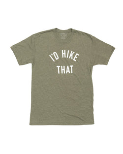 Keep Nature Wild Tee I'd Hike That Unisex Tee | Moss