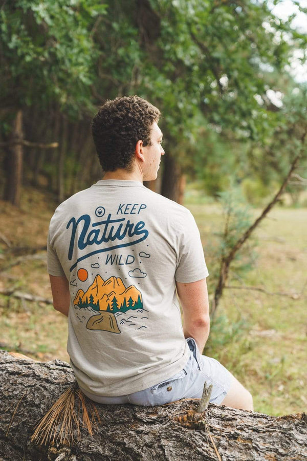 Into The Wild Unisex Tee | Silk - Keep Nature Wild