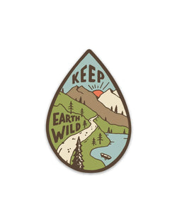 Keep Earth Wild | Sticker - Keep Nature Wild