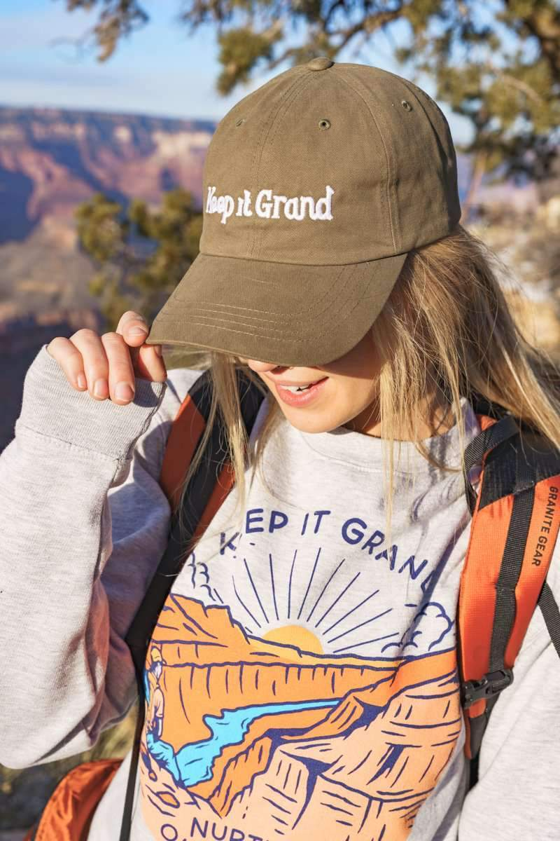 Keep It Grand Dad Hat | Loden - Keep Nature Wild