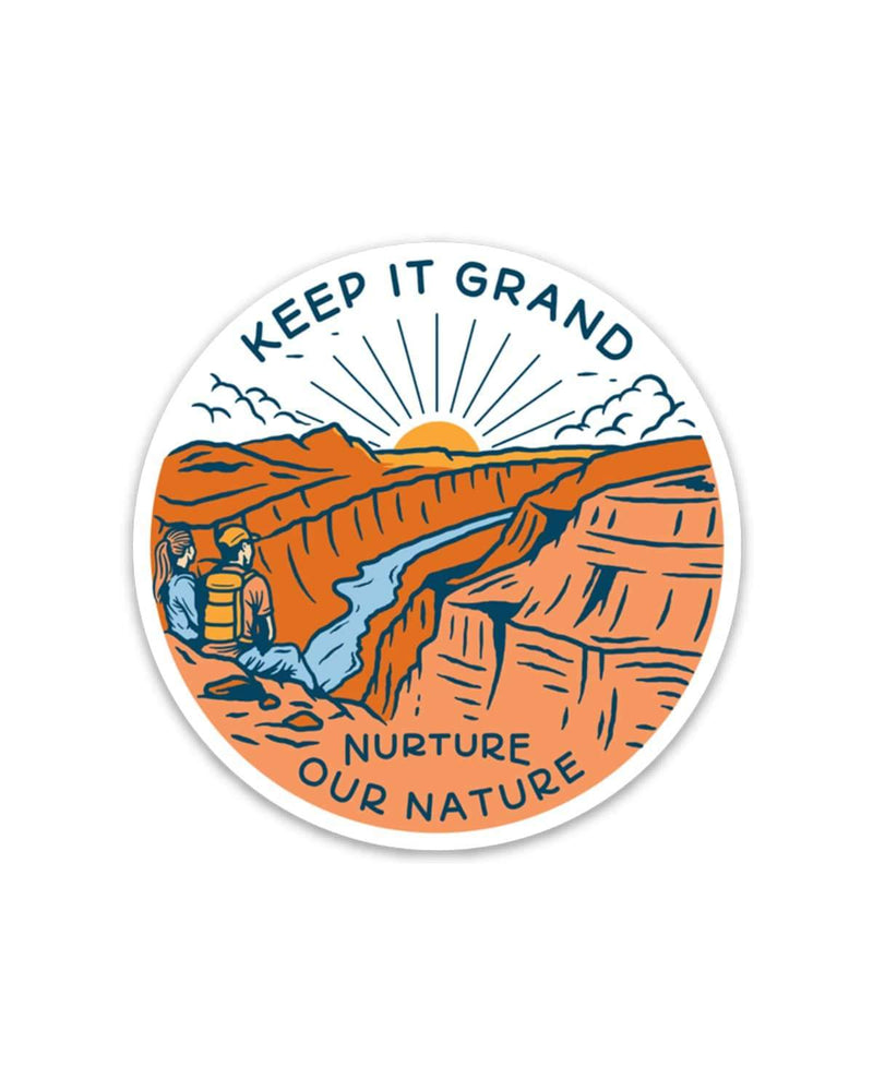 Keep it Grand | Sticker - Keep Nature Wild