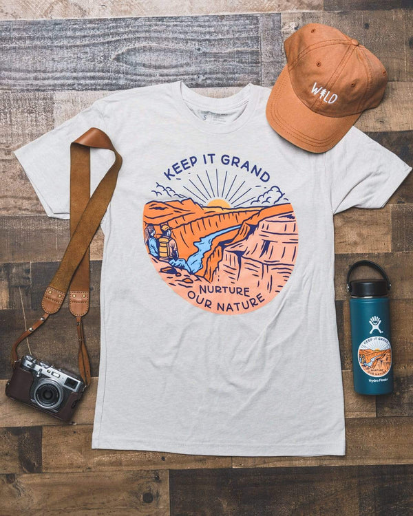 Keep it Grand Unisex Tee | Sand - Keep Nature Wild