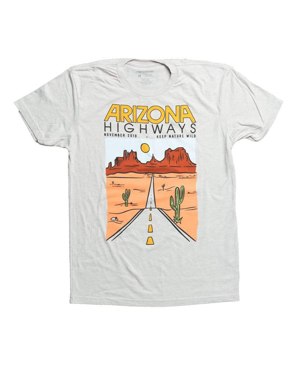 Keep Nature Wild Tee Keep Nature Wild X Arizona Highways Unisex Tee | Sand