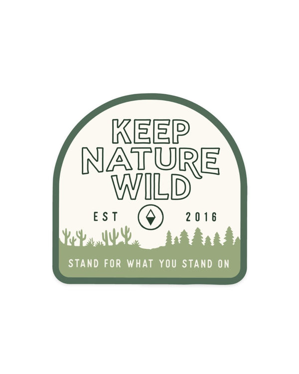 Keep Nature Wild Sticker KNW Birthday | Sticker