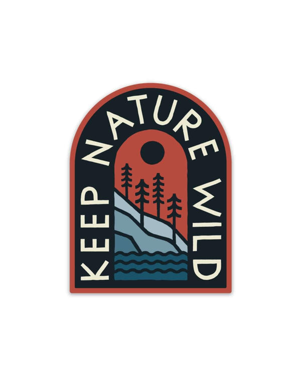 KNW Mountainside | Sticker - Keep Nature Wild
